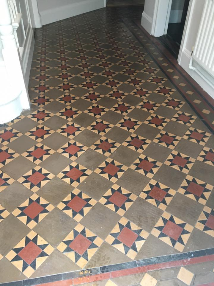 Victorian Tiles Cleaned Sealed Floor Renewal Service