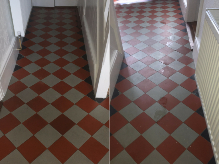 Victorian Tiles Cleaned & Sealed